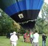 Varen in een luchtballon over België